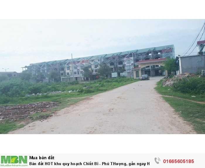 Bán đất HOT khu quy hoạch Chiết Bi - Phú THượng, gần ngay Huế GreenCity, đất 2 mặt tiền, giá tốt