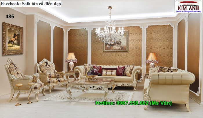 sofa tân cổ điển đẹp4