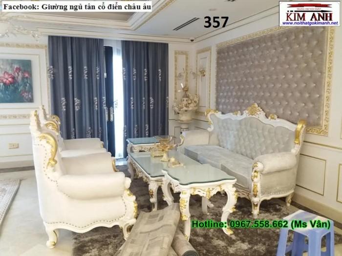 sofa cổ điển màu trắng6