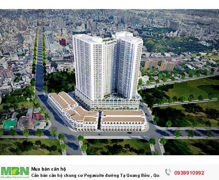 Cần bán căn hộ chung cư Pegasuite đường Tạ Quang Bửu , Quận 8 , Diện tích:68m2 giá 1.98tỷ