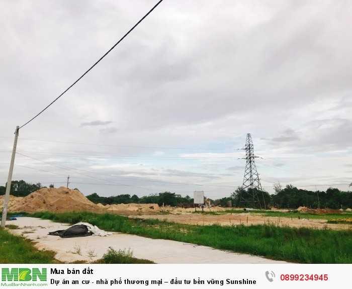 Dự án an cư - nhà phố thương mại – đầu tư bền vững Sunshine City Nam Đà Nẵng