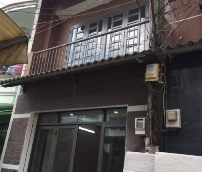Bán nhà hẻm 75/ Lê Liễu. 4m x 10m, 1 trệt + 1 lững + 1 lầu , P Tân Quý . Q Tân Phú
