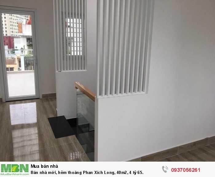 Bán nhà mới, hẻm thoáng Phan Xích Long, 40m2