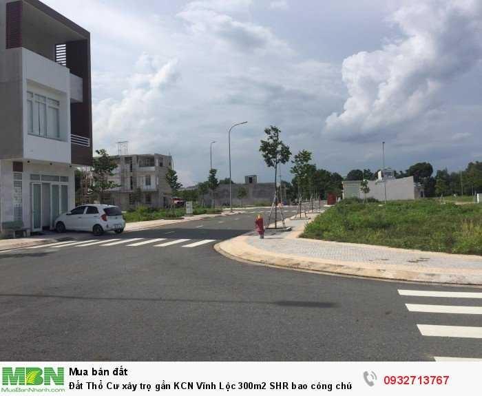 Đất Thổ Cư xây trọ gần KCN Vĩnh Lộc 300m2 SHR bao công chứng.