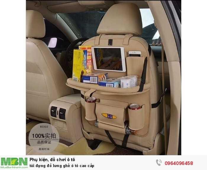 túi đựng đồ lưng ghế ô tô cao cấp