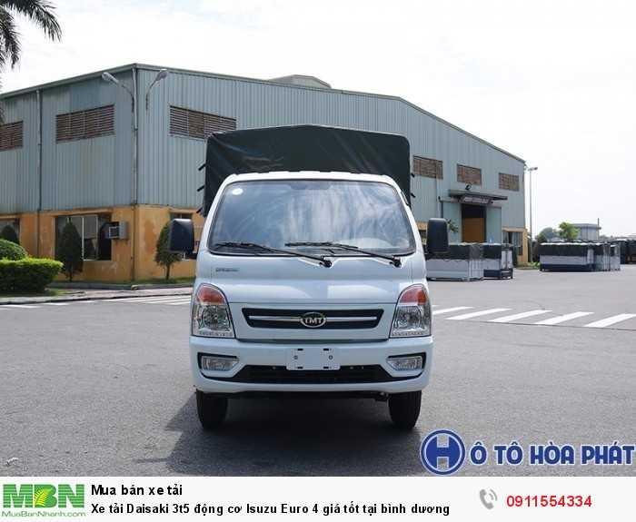 Xe tải Daisaki 3t5  động cơ Isuzu Euro 4 giá tốt tại bình dương