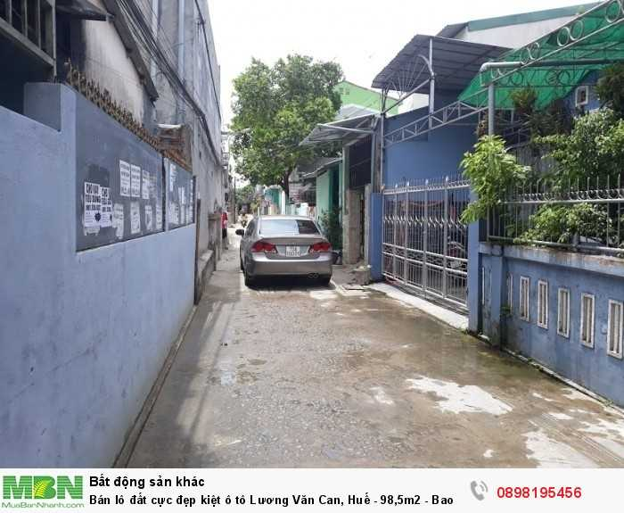 Bán lô đất cực đẹp kiệt ô tô Lương Văn Can, Huế - 98,5m2 - Bao sổ