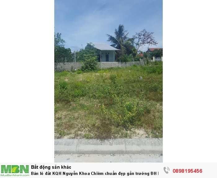 Bán lô đất KQH Nguyễn Khoa Chiêm chuẩn đẹp gần trường ĐH Ngoại Ngữ Huế - 121m2