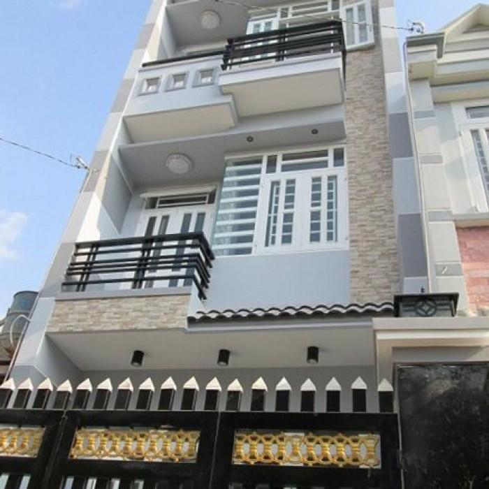 Siêu KM bán nhà tặng đều hòa 1 trệt 2 lầu DT 68m2 hẻm ô tô 4,8tỷ Thành Thái Q.10