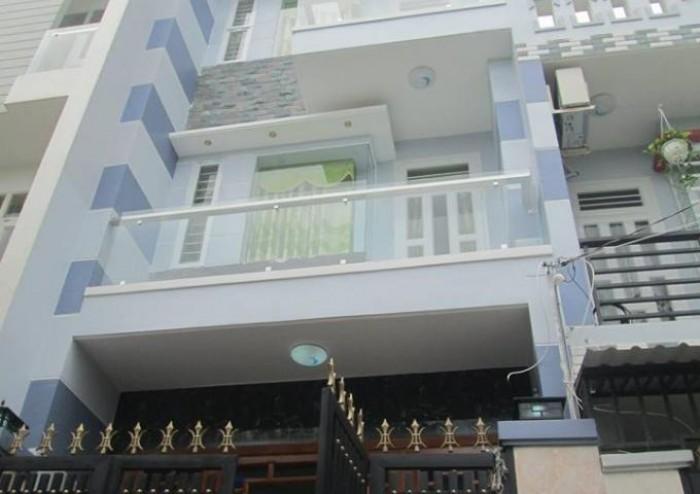 Nhà đẹp dành cho nhà đầu tư KD tốt 77m2 1tret 4lau Trường Trinh Tân Binh