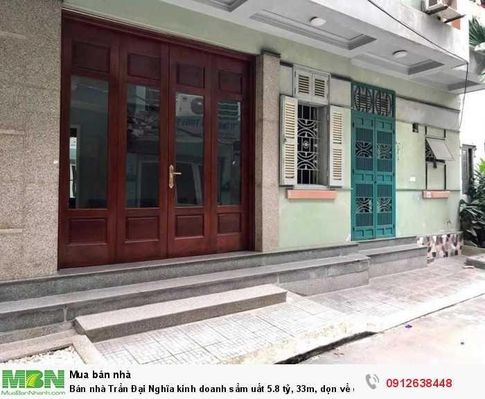 Bán nhà Trần Đại Nghĩa kinh doanh sầm uất, 33m, dọn về ở luôn.