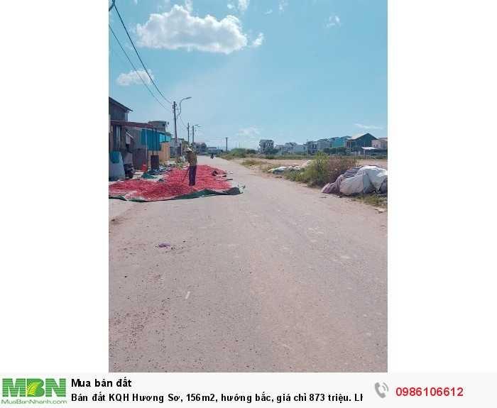 Bán đất KQH Hương Sơ, 156m2, hướng bắc, giá chỉ 873 triệu
