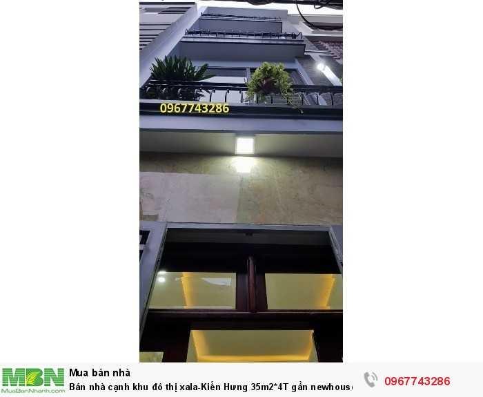 Bán nhà cạnh khu đô thị xala-Kiến Hưng 35m2*4T gần newhouse ô tô đỗ cách 15m, hỗ trợ ngân hàng 70%