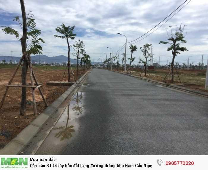 Cần bán B1.44 tây bắc đối lưng đường thông khu Nam Cầu Nguyễn Tri Phương