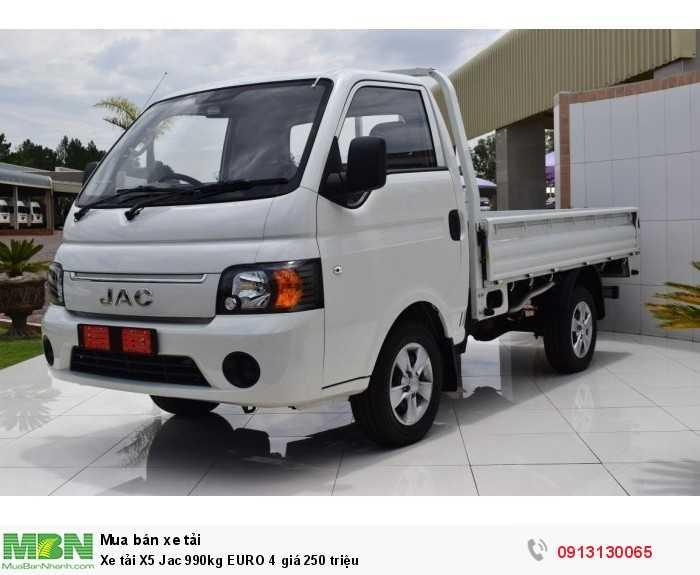 Xe tải X5 Jac 990kg EURO 4