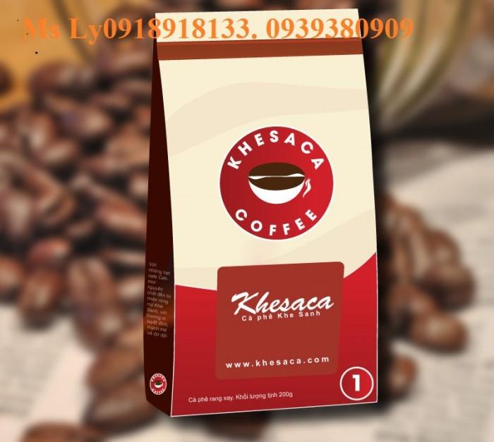 In bao bì cà phê giấy kraft đẹp,giá rẻ, thiết kế miễn phí16