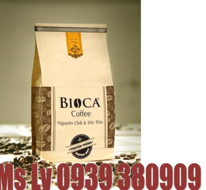 In bao bì cà phê giấy kraft đẹp,giá rẻ, thiết kế miễn phí8
