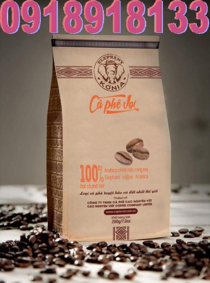 In bao bì cà phê giấy kraft đẹp,giá rẻ, thiết kế miễn phí4