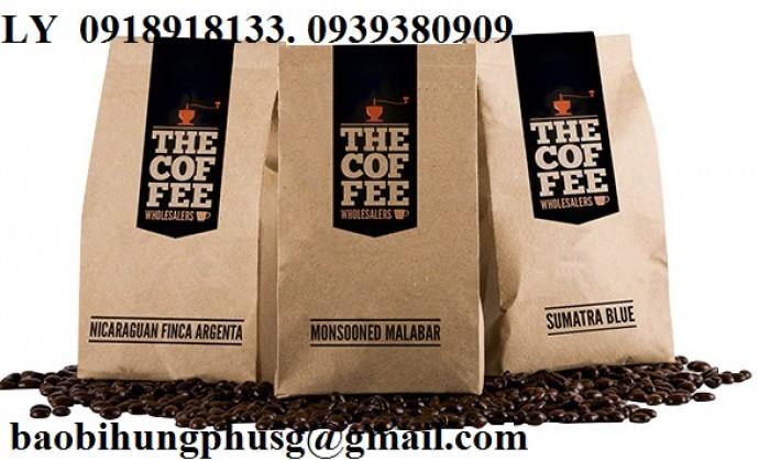 In bao bì cà phê giấy kraft đẹp,giá rẻ, thiết kế miễn phí15