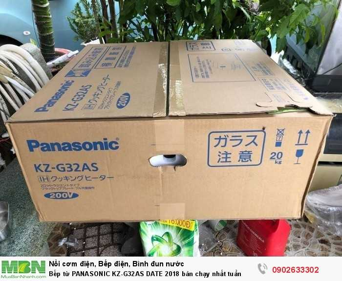 Bếp từ PANASONIC KZ-G32AS DATE 2018 bán chạy nhất tuần5