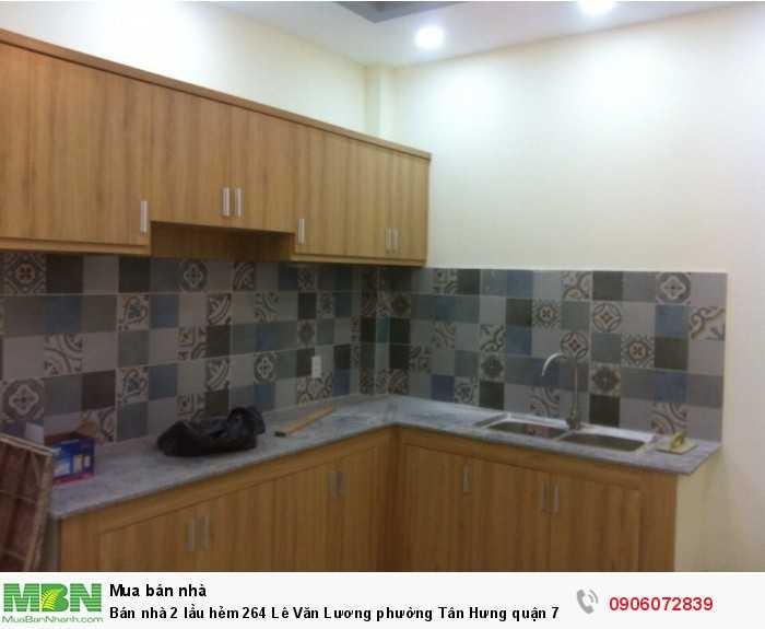 Bán nhà 2 lầu  hẻm 264 Lê Văn Lương phường Tân Hưng quận 7