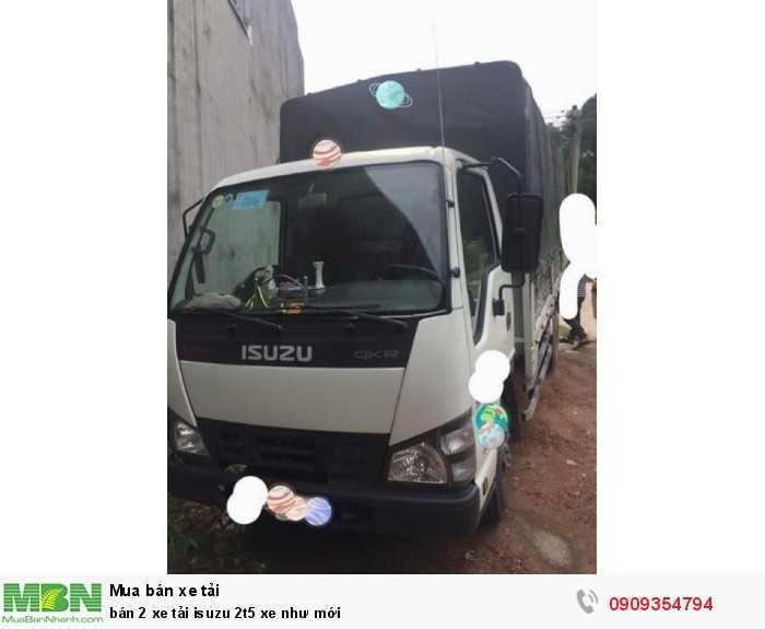 Bán 2 xe tải Isuzu 2t5 xe như mới 3