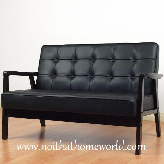 Sofa 2 chỗ ngồi HW106- Ghế bọc simili- Hàng xuất khẩu nhật- Nội thất Homeworld0