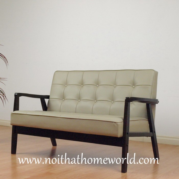 Sofa 2 chỗ ngồi HW106- Ghế bọc simili- Hàng xuất khẩu nhật- Nội thất Homeworld3
