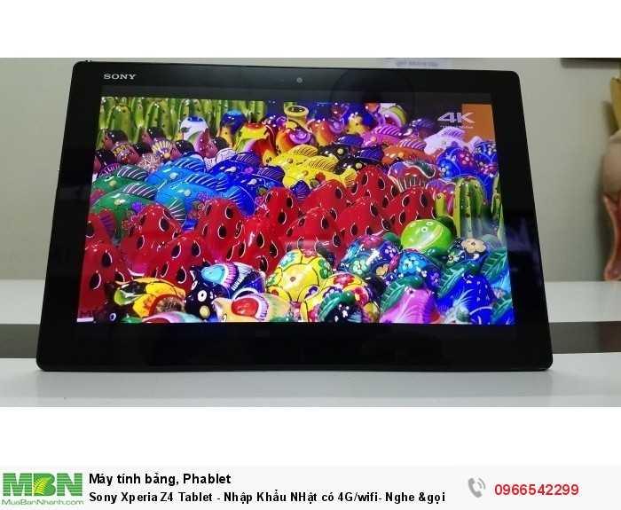 Sony Xperia Z4 Tablet - Nhập Khẩu NHật có 4G/wifi- Nghe &gọi3