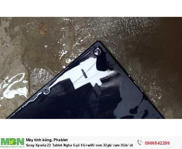 Sony Xperia Z2 Tablet Nghe Gọi/ 4G+wifi/ rom 32gb/ ram 3Gb/ chống nước giá rẻ uy tín tại ZinMobile0