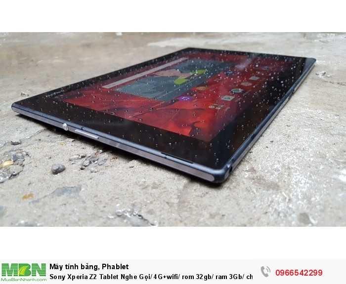 Sony Xperia Z2 Tablet Nghe Gọi/ 4G+wifi/ rom 32gb/ ram 3Gb/ chống nước giá rẻ uy tín tại ZinMobile2