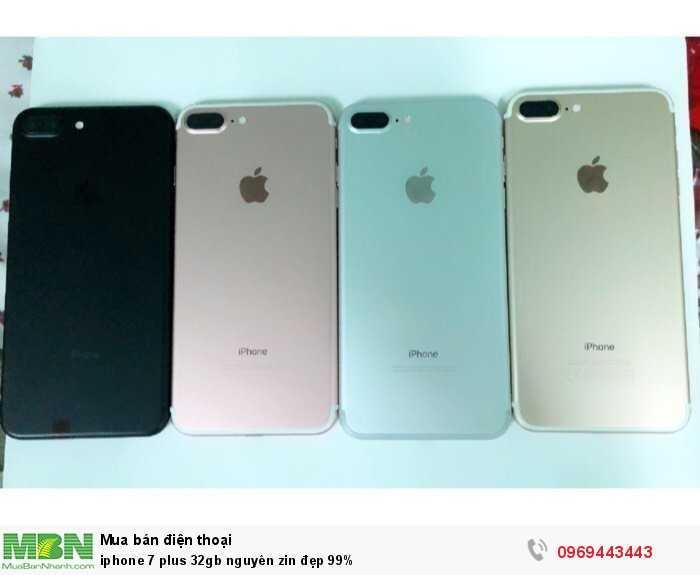 Iphone 7 plus 32gb nguyên zin đẹp 99%0