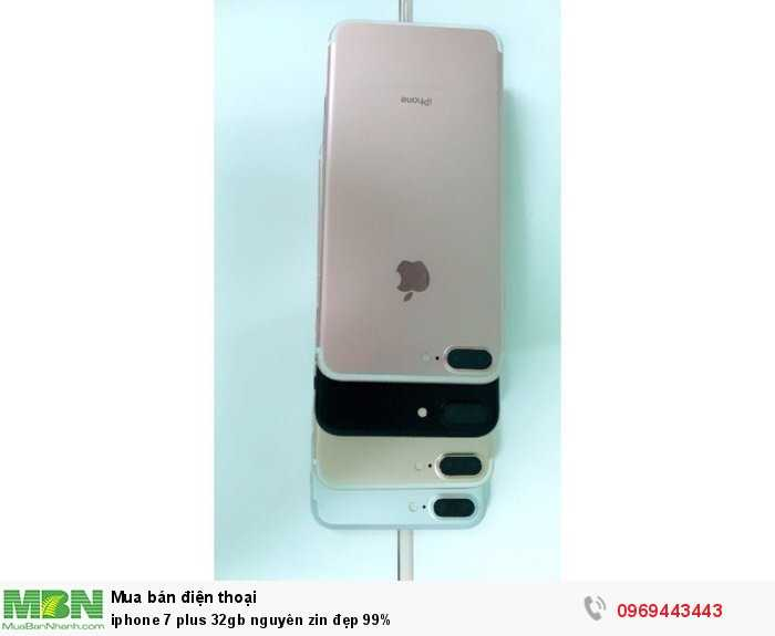 Iphone 7 plus 32gb nguyên zin đẹp 99%1