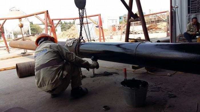 Sơn Bitum PREMCOTE PRIMER - Bảo vệ cho ống kim loại chống ăn mòn11