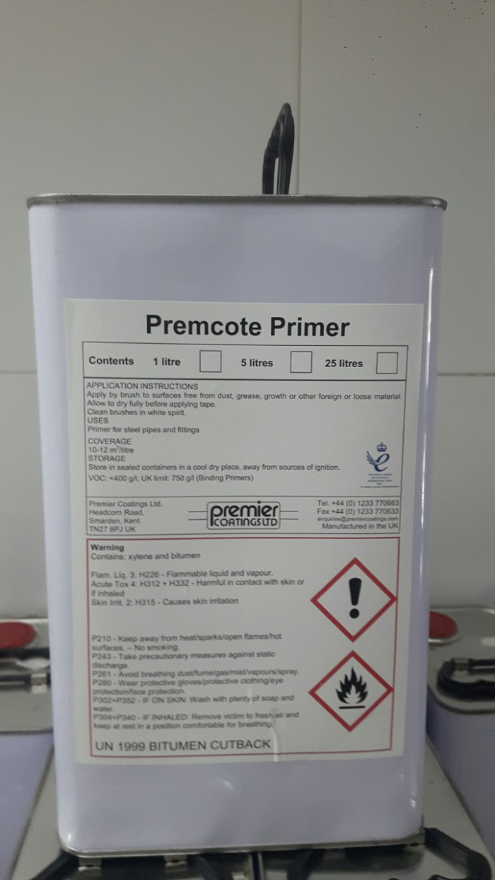 Sơn Bitum PREMCOTE PRIMER - Bảo vệ cho ống kim loại chống ăn mòn3
