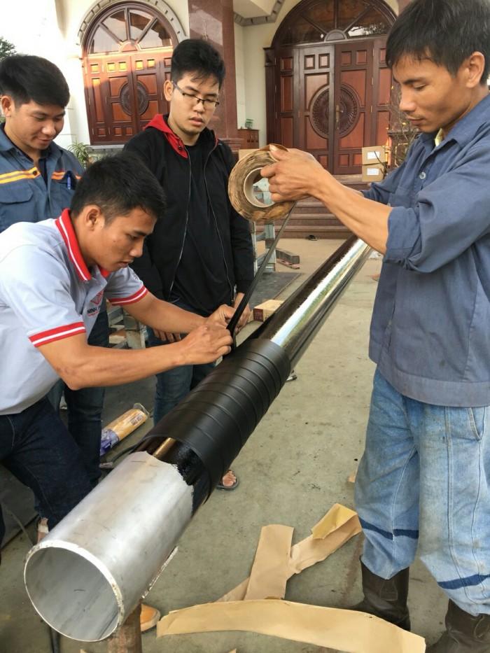 Sơn Bitum PREMCOTE PRIMER - Bảo vệ cho ống kim loại chống ăn mòn5