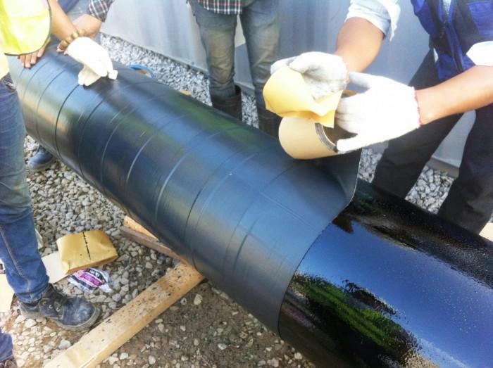 Sơn Bitum PREMCOTE PRIMER - Bảo vệ cho ống kim loại chống ăn mòn6