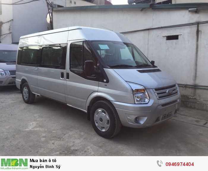 Ford Transit bản tiêu chuẩn Mid 0