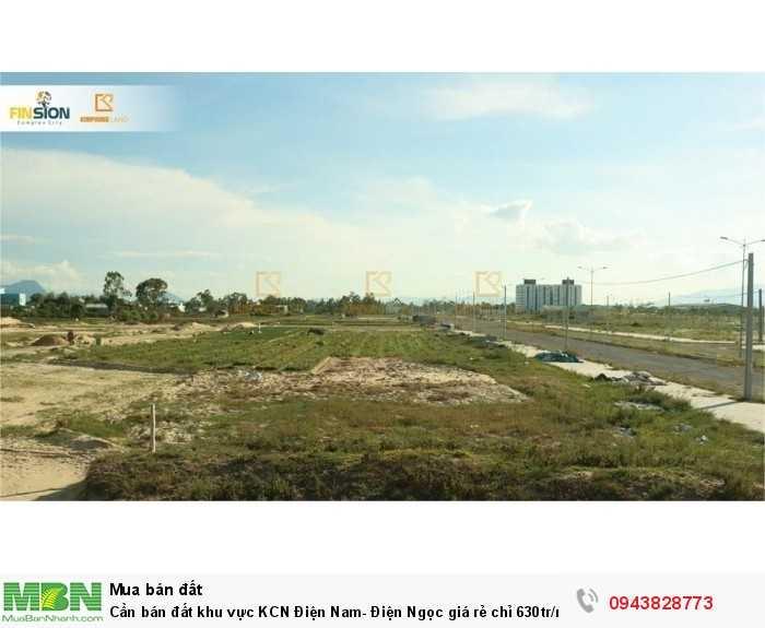 Cần bán đất khu vực KCN Điện Nam- Điện Ngọc giá rẻ