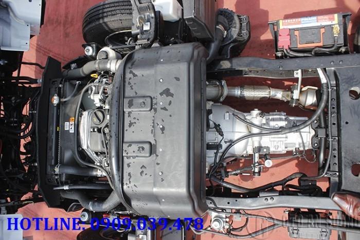 Giá xe tải Hyundai 2t4 thùng bạt 3