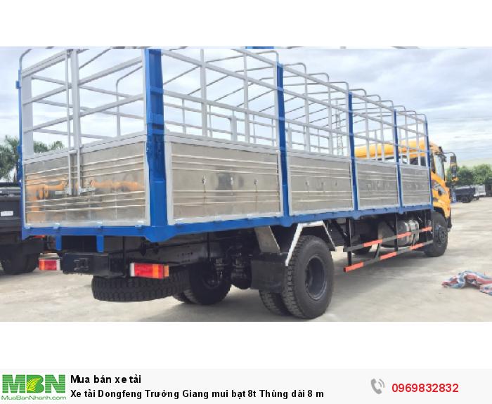 Dongfeng sản xuất năm 2017 Số tay (số sàn) Xe tải động cơ Dầu diesel