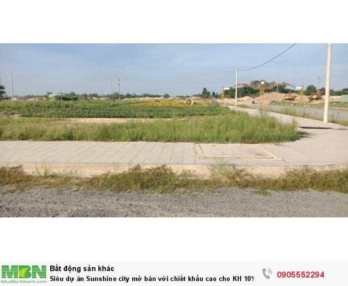 Siêu dự án Sunshine city mở bán với chiết khấu cao cho KH 10%.