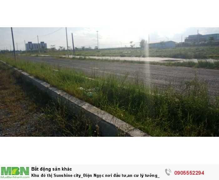 Khu đô thị Sunshine city_Điện Ngọc  nơi đầu tư,an cư lý tưởng