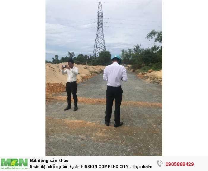 Nhận đặt chỗ dự án Dự án FINSION COMPLEX CITY   - Trục đường lớn 27m