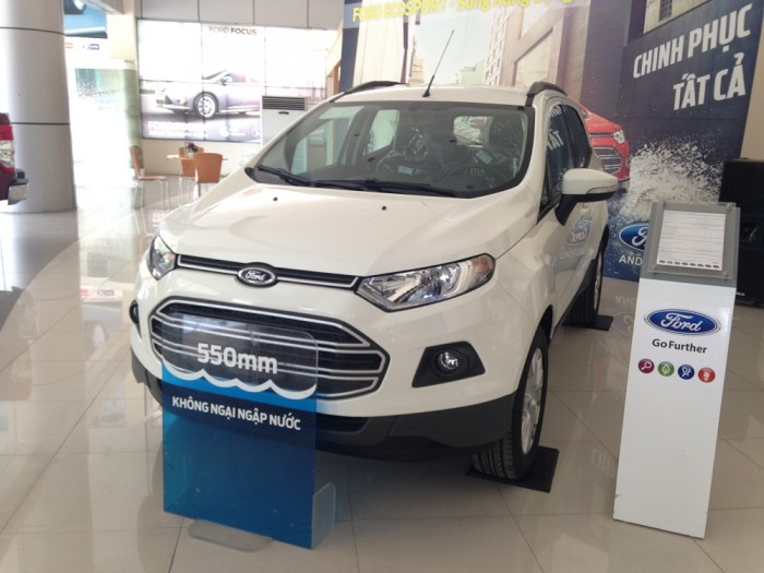 Ford Ecosport Trend AT 2018 màu trắng