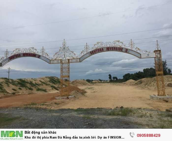Khu đô thị phía Nam Đà Nẵng-đầu tư,sinh lời- Dự án FINSION COMPLEX CITY