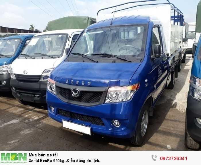 Xe tải KenBo 990kg -giá tốt tại Bình Dương 1
