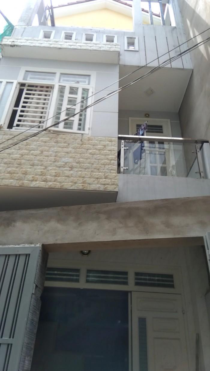 Bán gấp nhà mặt tiền 1 trệt 3 lầu gần cầu Bình Triệu, DT: 67m2