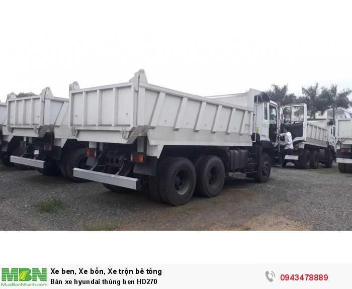 Bán xe hyundai thùng ben HD270 2