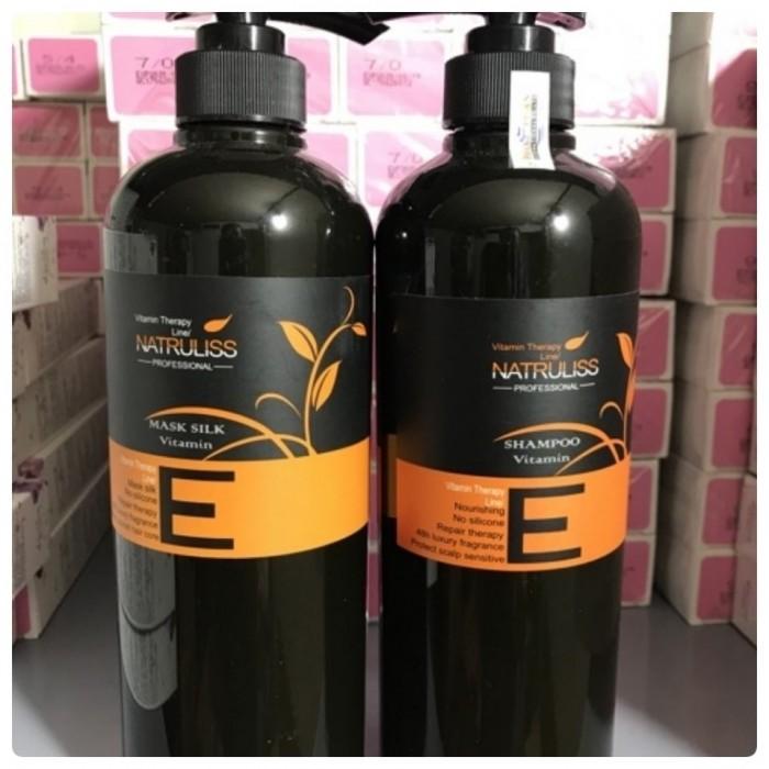 Cặp Dầu Gội  Xả Vitamin Điều Trị Tóc Hư Tổn Khô Xơ Và Tẩy Natruliss0